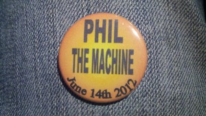SETLIST: Phil (The Machine) and Pals, Terrapin Crossroads Bar, Thursday June 14, 2012