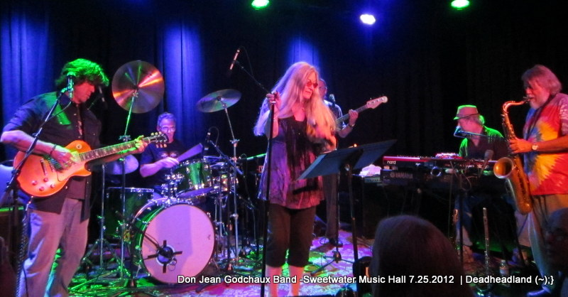 SETLIST: Donna Jean Godchaux Band – w Mark Karan and Mookie Siegel, Sweetwater Music Hall, July 25, 2012